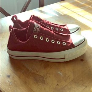 Converse slip-on shoes. Worn handful of times